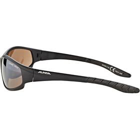 Alpina Wylder Okulary, black matt/platinum mirror
